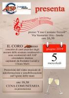 5 giugno 2019 - Imola in Musica... anche a Casa Alzheimer!