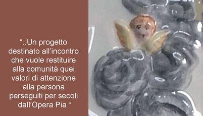 Apposizione della targa a ricordo dell'Opera Pia S. Maria di Tossignano