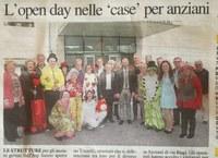 Open day delle Case Anziani